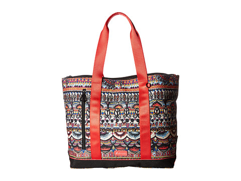 Sakroots New Adventure Large Tote - Camel One World