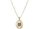 The Sak - Floral Oval Pendant Necklace 16