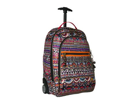 Sakroots York Rolling Backpack - Camel One World