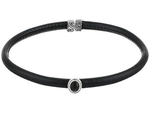 The Sak Stone Flex Choker Necklace - Black/Silver