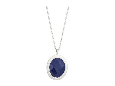 The Sak Large Stone Pendant Necklace 28