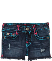 True Religion Kids - Bobby Raw Edge Shorts (Toddler/Little Kids)