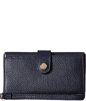 COACH - Polished Pebble Leather Phone Clutch