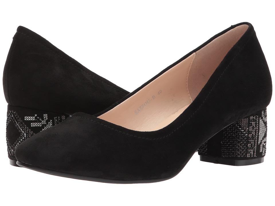 Spring Step Zazzou (Black) Women's Shoes