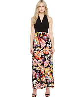 London Times - Branch Flower Matte Jersey Maxi
