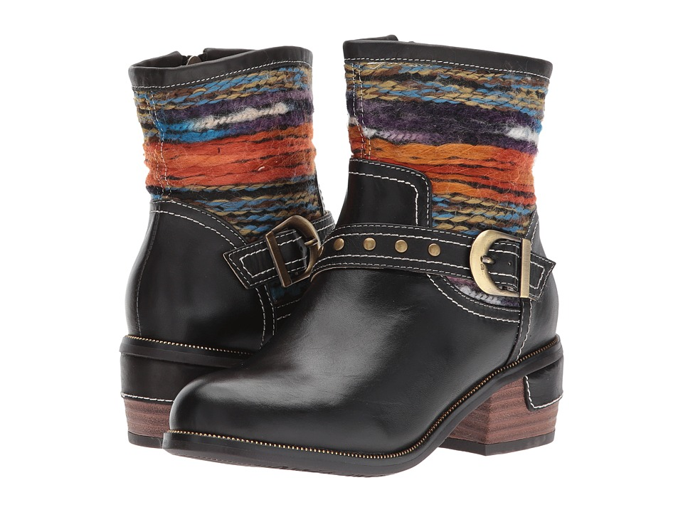 LArtiste by Spring Step - Gaetana (Black) Womens Shoes