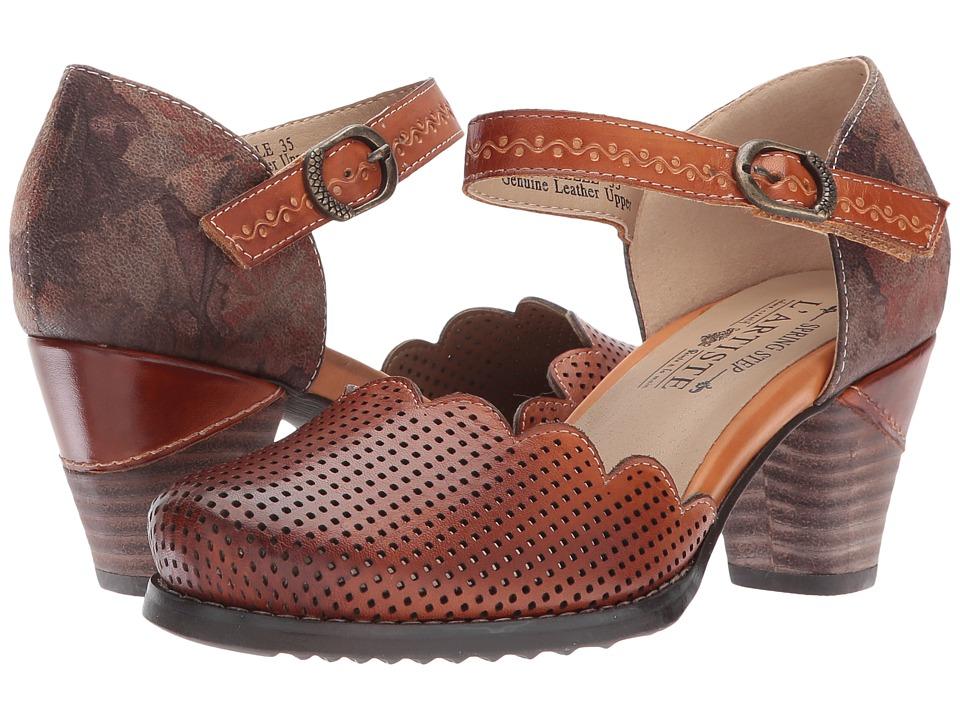 L'Artiste by Spring Step Parchelle (Camel) Women's Shoes