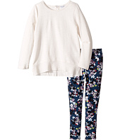 Splendid Littles - All Over Printed Leggings with Cream Top (Little Kids)