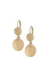The Sak - Debossed Double Drop Earrings