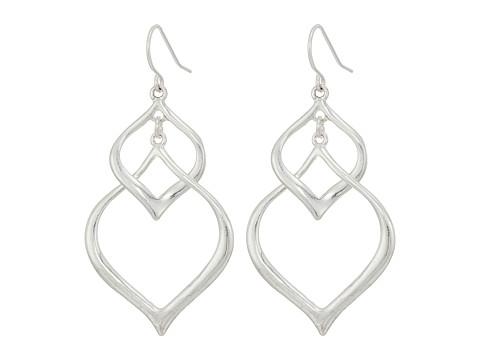 The Sak Arabesque Orbit Earrings - Silver
