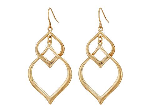The Sak Arabesque Orbit Earrings - Gold
