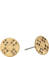 The Sak - Etched Metal Stud Earrings