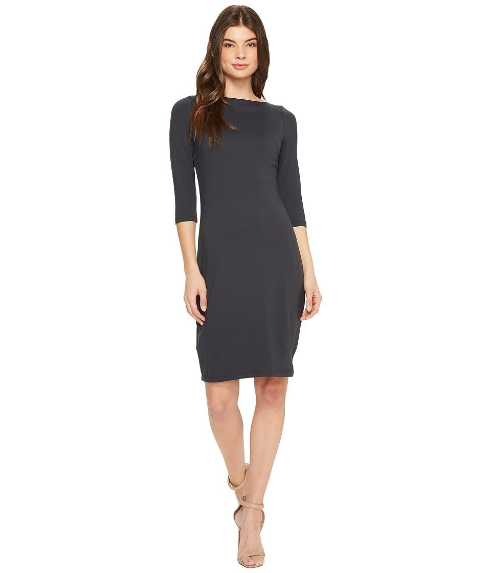Susana Monaco Hunter Dress (Onyx) Women