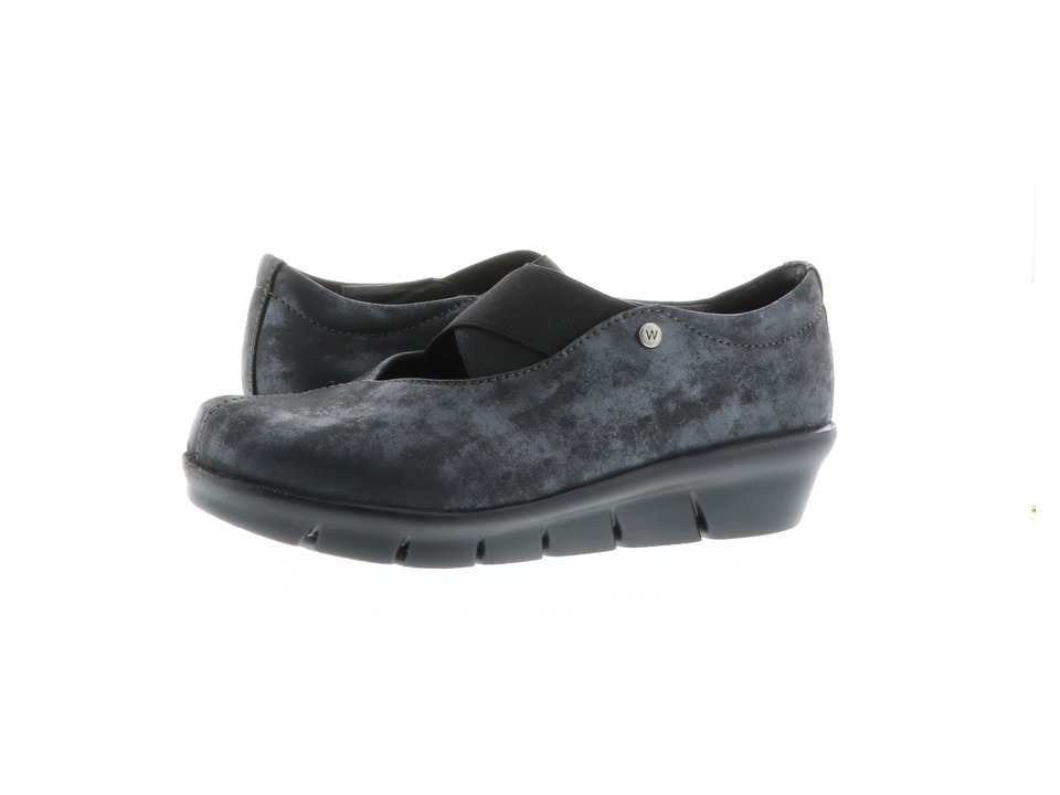 Wolky Cursa (Black Amalia) Slip-On Shoes
