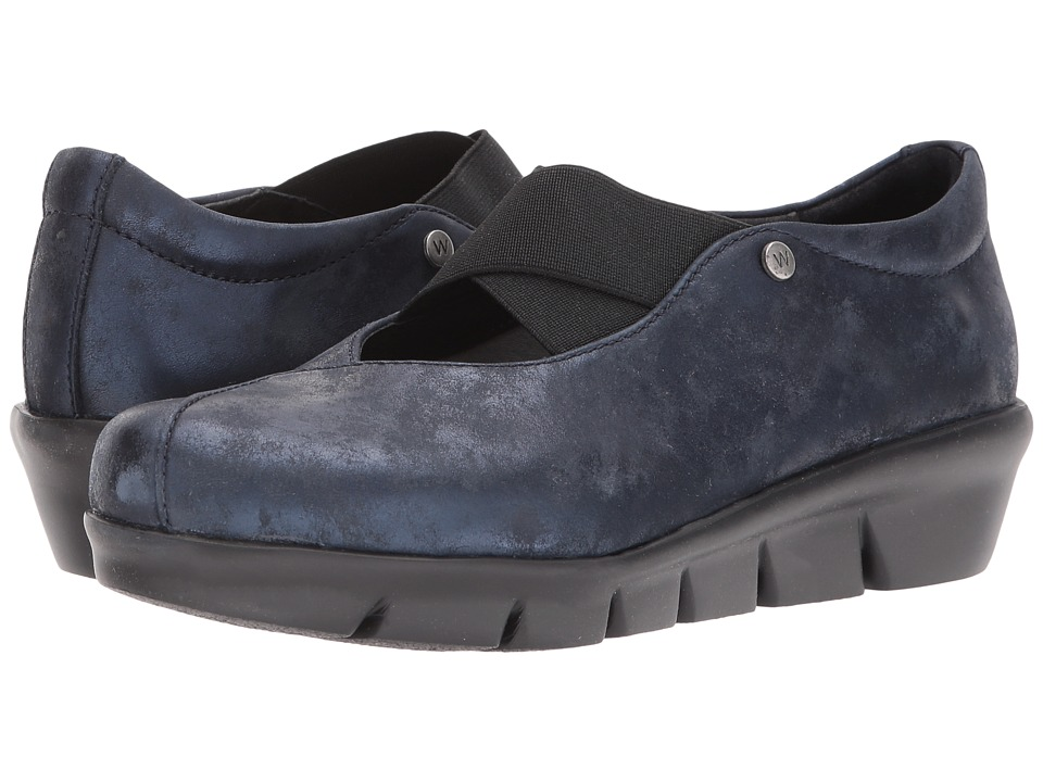 Wolky Cursa (Navy Amalia) Slip-On Shoes