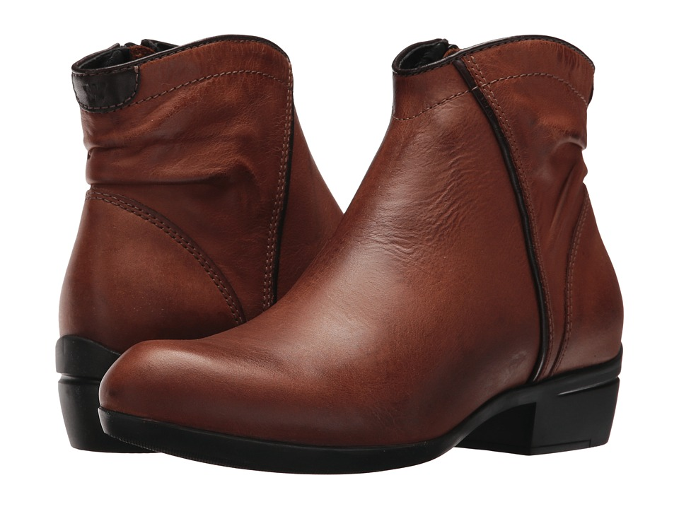 Wolky Winchester (Cognac Algarve Leather) Women