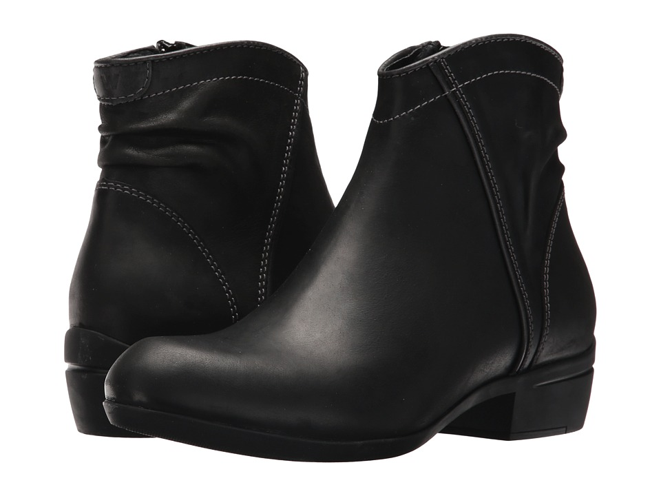 Wolky Winchester (Black Algarve Leather) Women