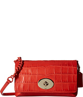 COACH - Embossed Croc Crosstown Cross Body