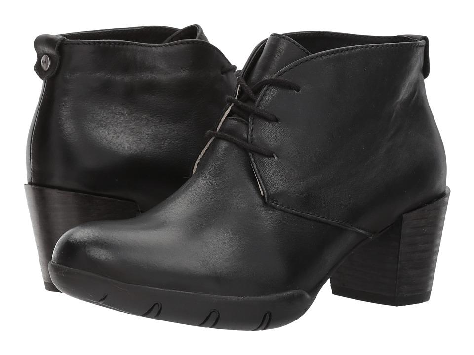 Wolky Bighorn (Black Vegi Leather) Women