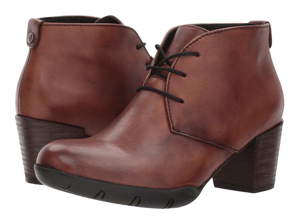 Wolky Bighorn (Cognac Vegi Leather) Women