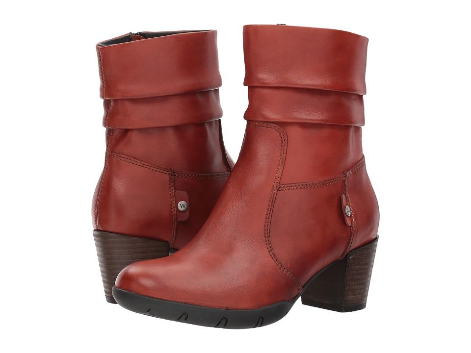 Wolky Colville (Terracotta Vegi Leather) Women