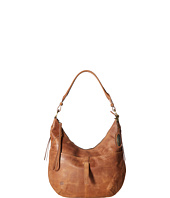 Born - Distressed Leather Cross Hobo