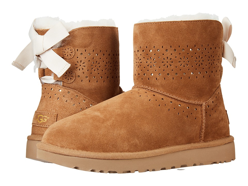 UGG Dae Sunshine Perf (Chestnut) Women