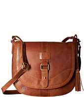 Born - Distressed Leather Saddle Bag