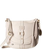 Born - Distressed Leather Saddle Bag