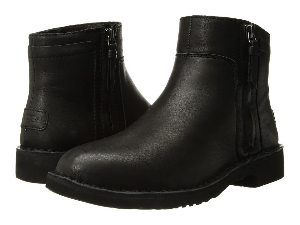 UGG Rea Leather (Black) Women