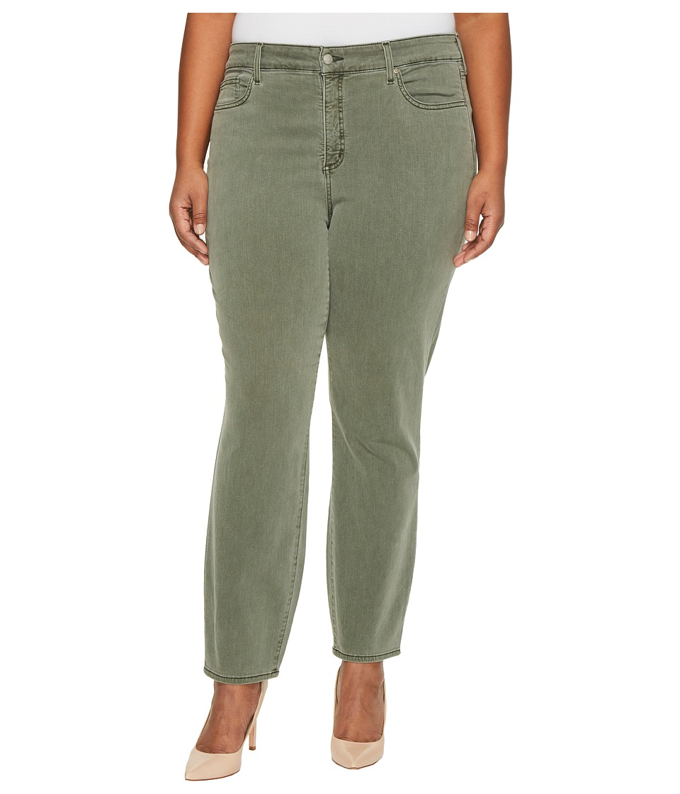 NYDJ Plus Size - Plus Size Alina Legging Jeans in Fatigue