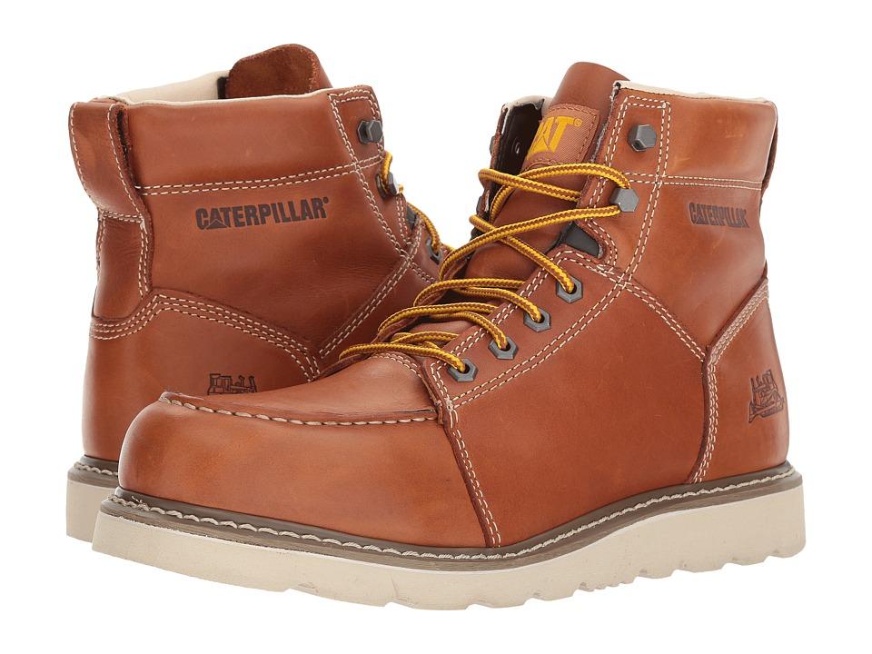 Caterpillar Tradesman (Brown Full Grain Leather) Men