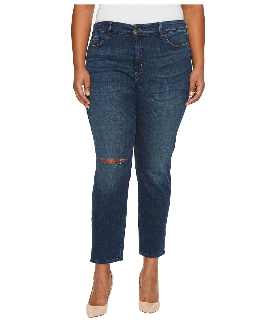 NYDJ Plus Size - Plus Size Alina Legging Jeans with Knee Slit in Horizon
