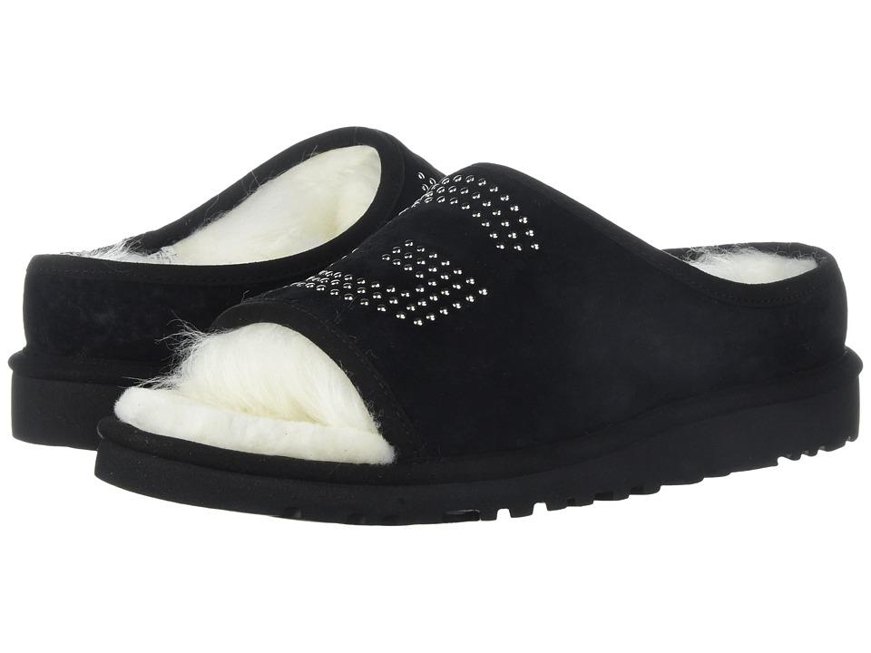 UGG - UGG Slide Stud (Black) Women's Sandals