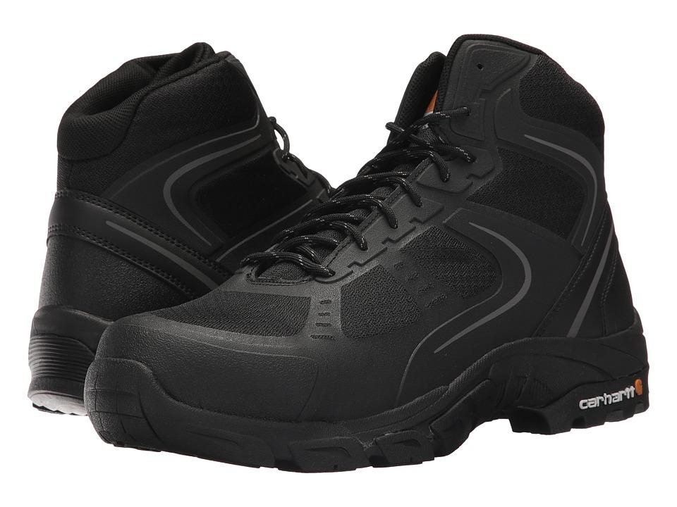 Carhartt Lightweight Work Hiker Steel Toe (Black Nylon Mesh) Men