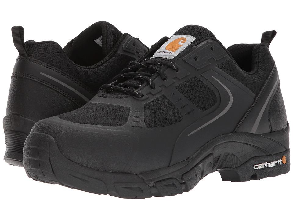 Carhartt Lightweight Low Work Hiker Boot Steel Toe (Black Nylon Mesh) Men