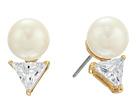 Kate Spade New York Bright Ideas Triangle Pearl Stud Earrings