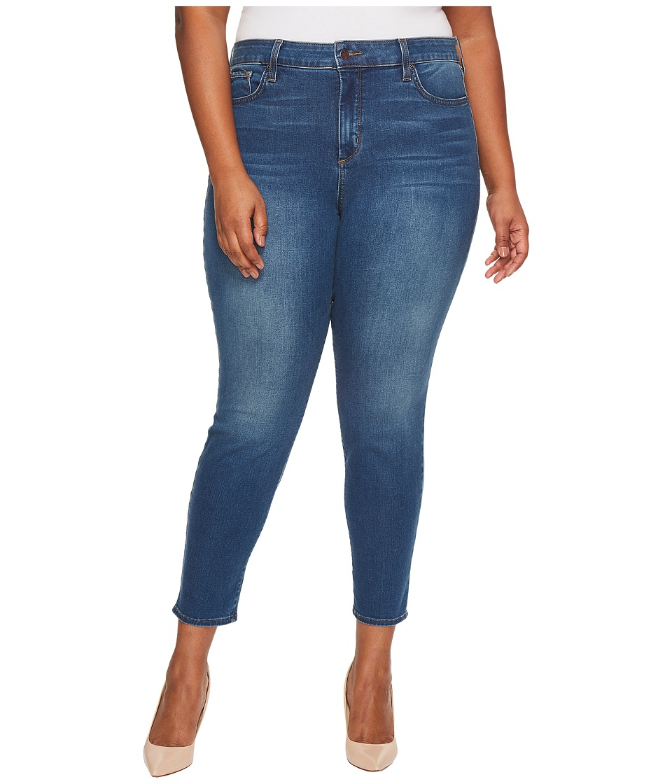 NYDJ Plus Size - Plus Size Ami Skinny Legging Jeans in Smart Embrace Denim in Noma (Noma) Womens Jeans