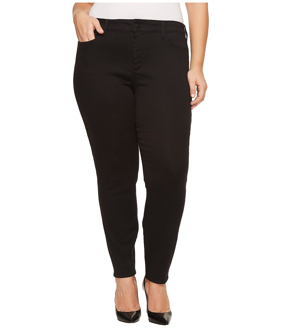 NYDJ Plus Size Plus Size Ami Skinny Legging Jeans in Super Sculpting Denim in Black (Black) Women