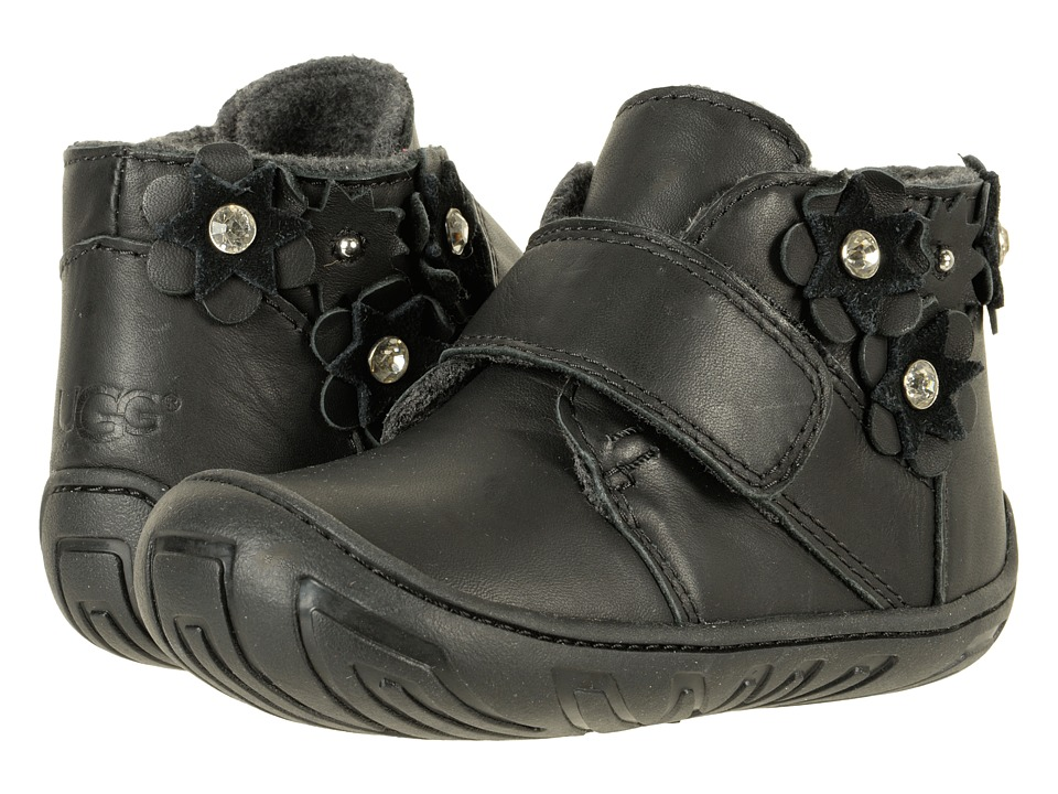 UGG Kids Jorgen Petal (Toddler) (Black) Girls Shoes