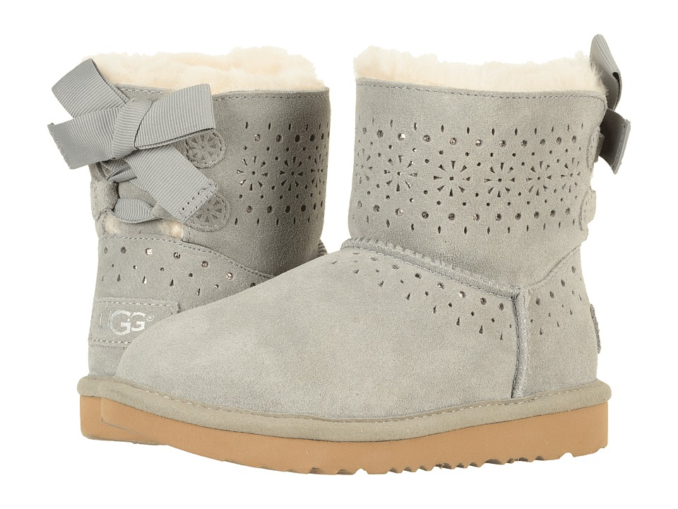 UGG Kids Dae Sunshine Perf (Little Kid/Big Kid) (Seal) Girls Shoes