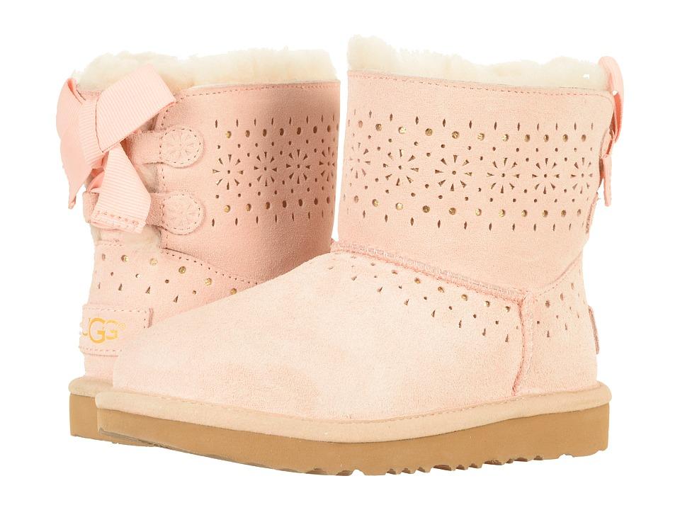 UGG Kids Dae Sunshine Perf (Little Kid/Big Kid) (Baby Pink) Girls Shoes
