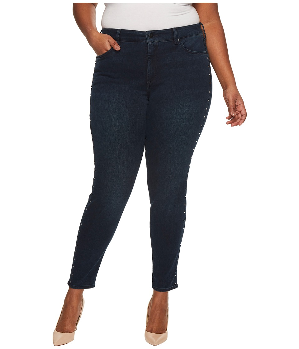 NYDJ Plus Size Plus Size Ami Skinny Legging Jeans with Studs in Future Fit Denim in Mason (Mason) Women