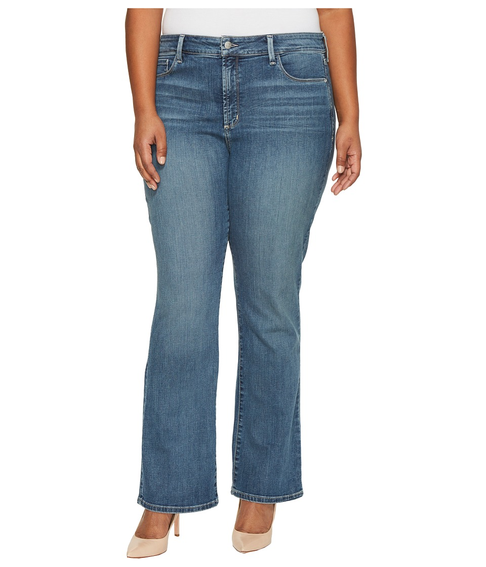 NYDJ Plus Size Plus Size Barbara Bootcut Jeans in Heyburn Wash (Heyburn Wash) Women