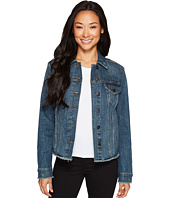 NYDJ - Denim Jacket w/ Frayed Hem