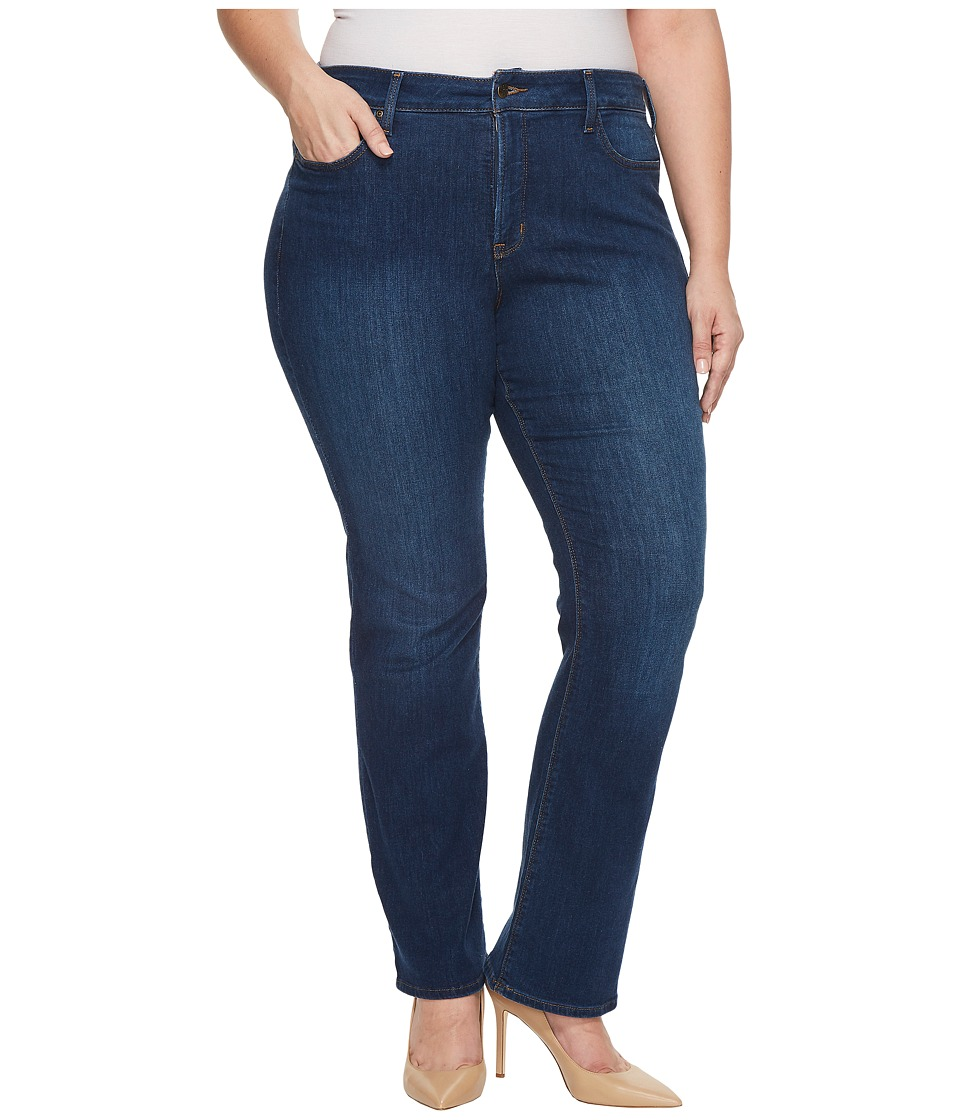 NYDJ Plus Size - Plus Size Barbara Bootcut Jeans in Cooper (Cooper) Womens Jeans
