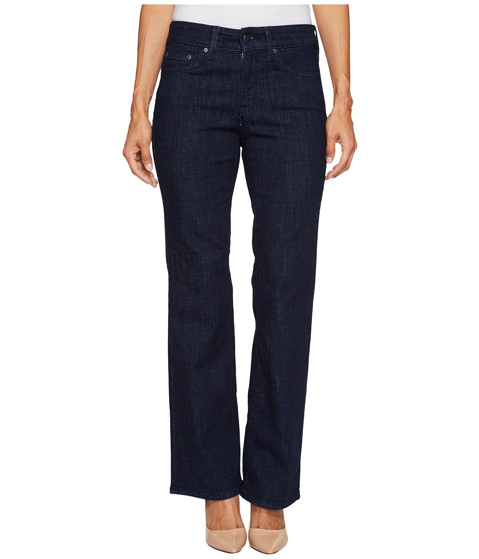NYDJ Petite Petite Barbara Bootcut Jeans in Crosshatch Denim in Rambard (Rambard) Women