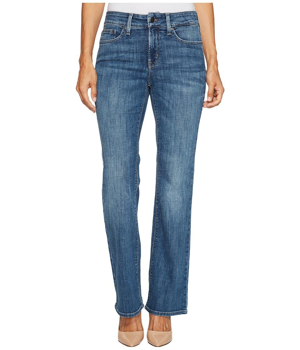 NYDJ Petite Petite Barbara Bootcut Jeans in Crosshatch Denim in Newton (Newton) Women