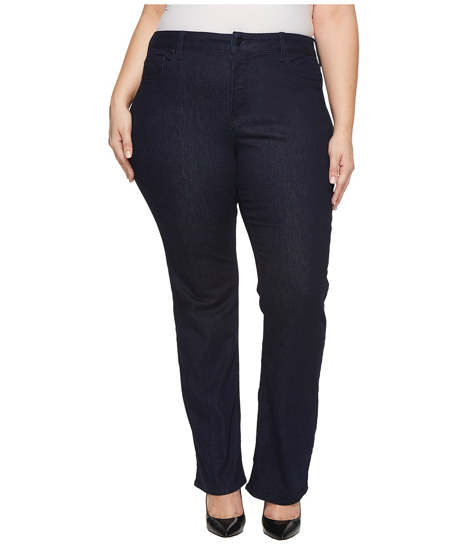 NYDJ Plus Size - Plus Size Barbara Bootcut Jeans in Rinse (Rinse) Womens Jeans