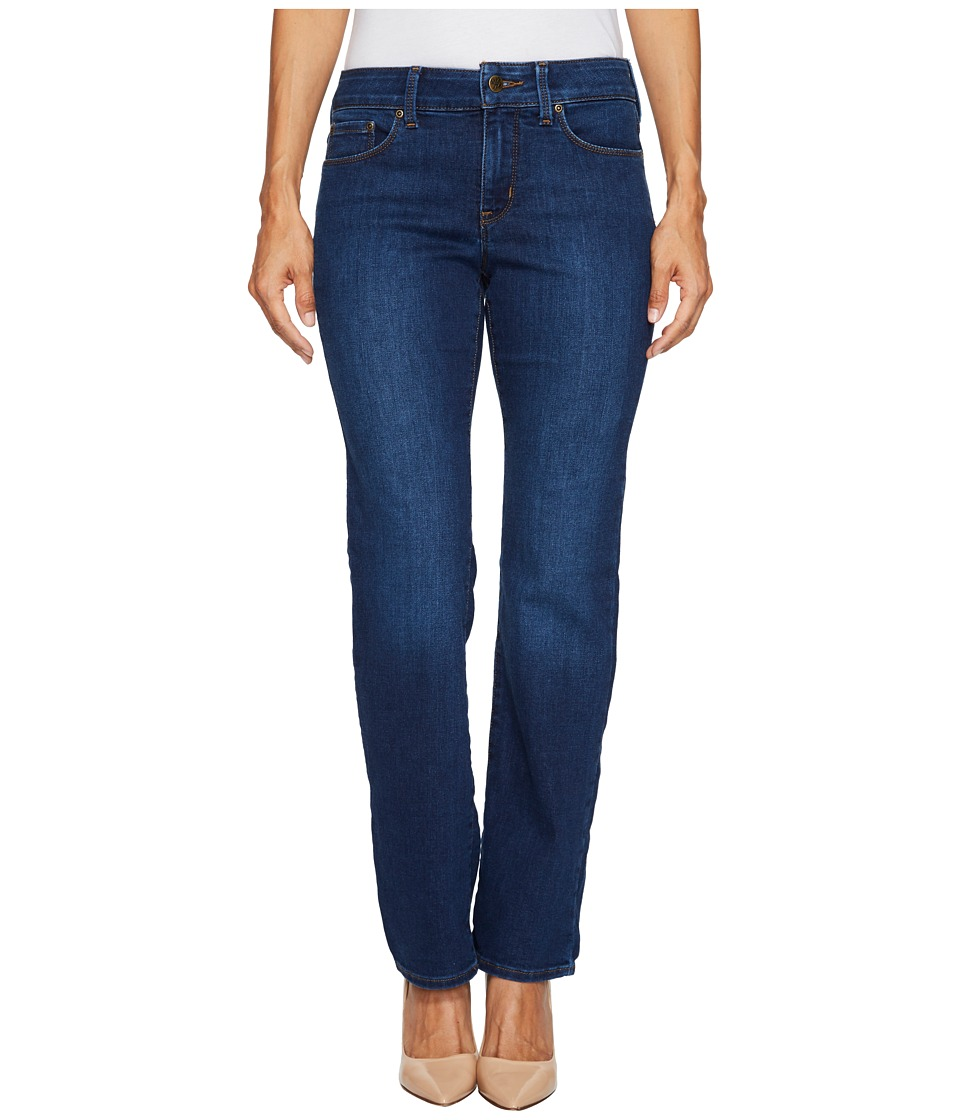 NYDJ Petite - Petite Marilyn Straight Jeans in Cooper (Cooper) Womens Jeans